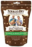 Newman's Own Organics Premium Dog Treats, Turkey and Sweet Potato, 10-Ounce Bags (Pack of 6), My Pet Supplies