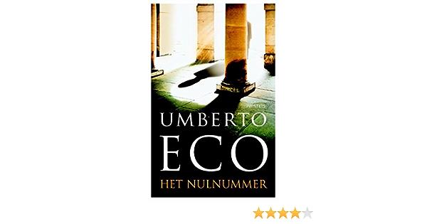 Read Het Nulnummer By Umberto Eco