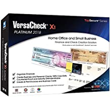 VersaCheck X1 Platinum 2018 - Finance & Check Creation Software