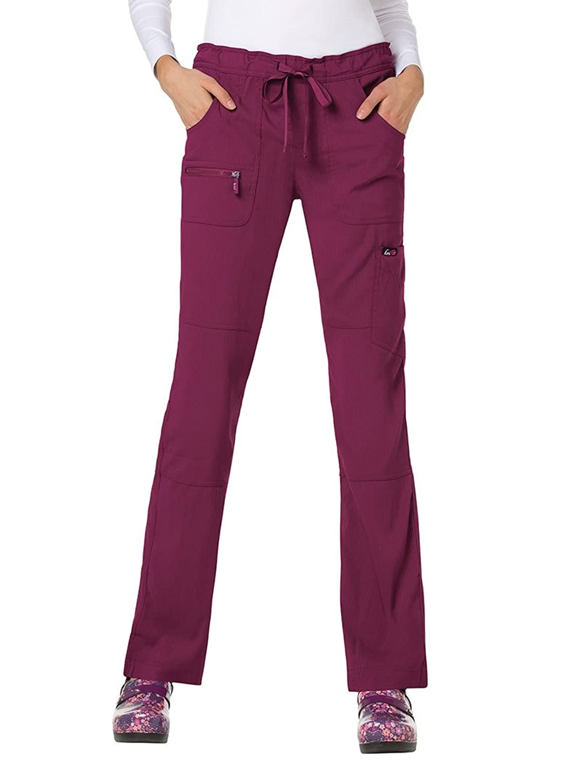 188d43669fc koi Lite\'s athletic-inspired performance stretch pants with drawstring  waist. Breathable moisture-wicking fabric moves with you and keeps you cool  and dry.