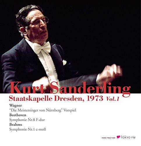 ザンデルリング & シュターツカペレ・ドレスデン 1 (Kurt Sanderling & Staatskapelle Dresden  1973 Vol.1 ~ Wagner : ``Die Meistersinger von Nurnberg`` Vorspiel | Beethoven : Symphony Nr.8 F-dur | Brahms : Symphony Nr.1 c-moll) [2LP] [Live Recording] [Limited Edition] [Analog]