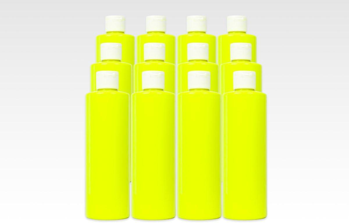 16Oz Washable Neon Uv Glow Paint - Yellow