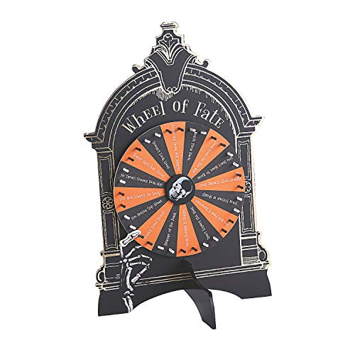 Halloween Spinner Game (Fun Express Halloween Fortune Wheel of Fate Game (Wood) Halloween Party)