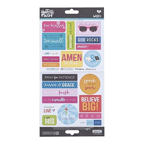 Illustrated Faith - Cardstock Stickers - - Sunglasses Stock