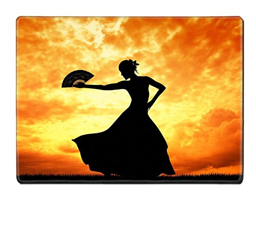 Flamenco Dancer Costume Ideas (Luxlady Placemat IMAGE ID 21164069 Woman dancing flamenco)
