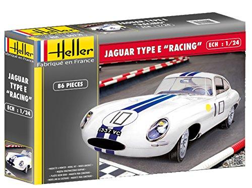 (Heller 1:24 - Jaguar Type E Le Mans)