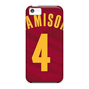 LCGzd12718cIxQa Anti-scratch Case Cover HugeOfficial Protective Cleveland Cavaliers Case For Iphone 5c