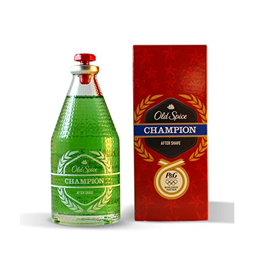 Champions Glass - Old Spice Champion Aftershave - 100ml Glass
