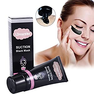 Suction Black Mask Acne Purifying Mask , Blackhead Remover Deep Cleansing Tearing Style Purifying Peel off Mask