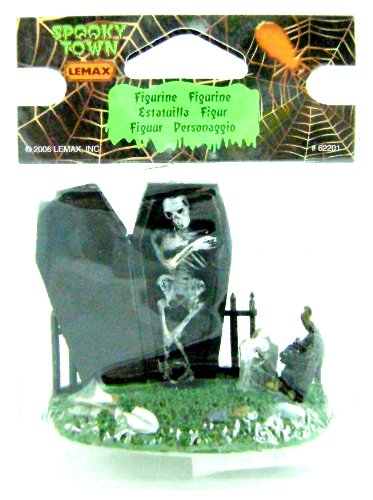 Lemax 62201 SPOOKY GRAVEYARD FIGURE SPOOKY TOWN Halloween Decor Figurine