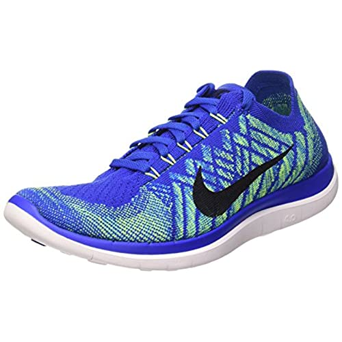 Nike Free 4.0 Flyknit Men Round Toe Synthetic Multi Color