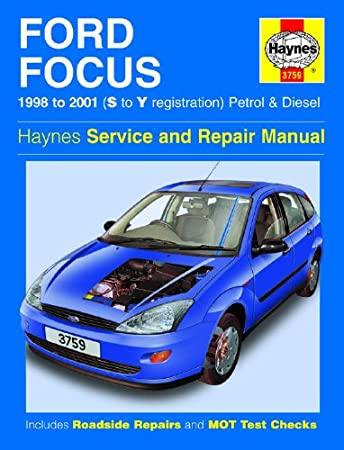 ford focus 1 4 1 6 1 8 2 0 zetec petrol 1 8 td diesel haynes manual rh amazon co uk 2007 Ford Focus Shop Manual 2007 Ford Focus Service