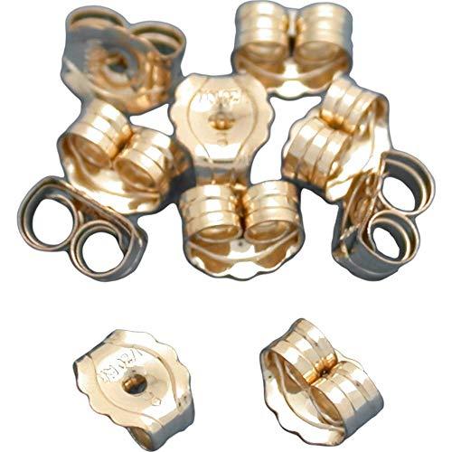 5 Pairs 14K Gold Filled Earring Backs Jewelry Ear ()