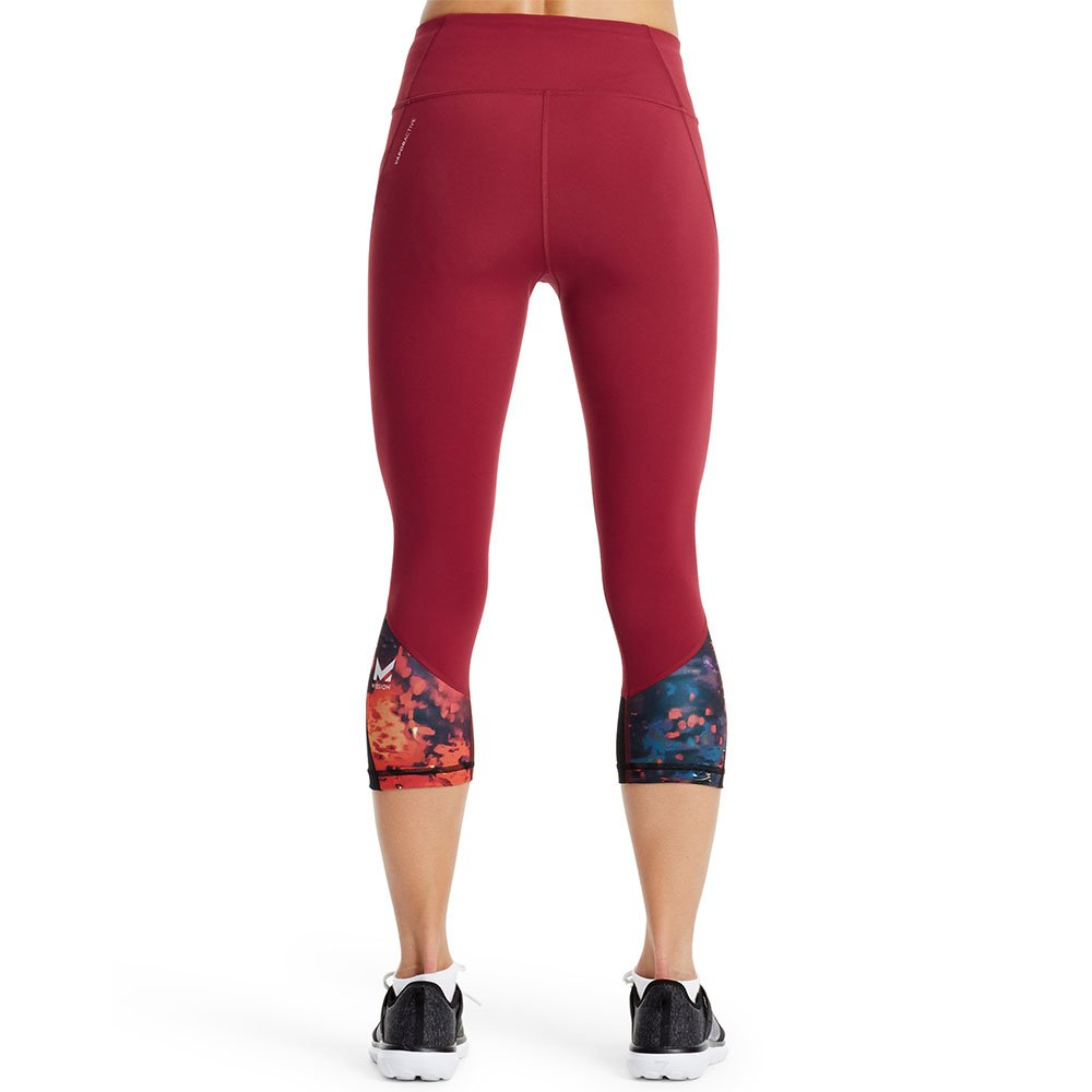 Mission Womens VaporActive System Mid-Rise Capri Leggings Mission Athlete Care MISSP17W011-P
