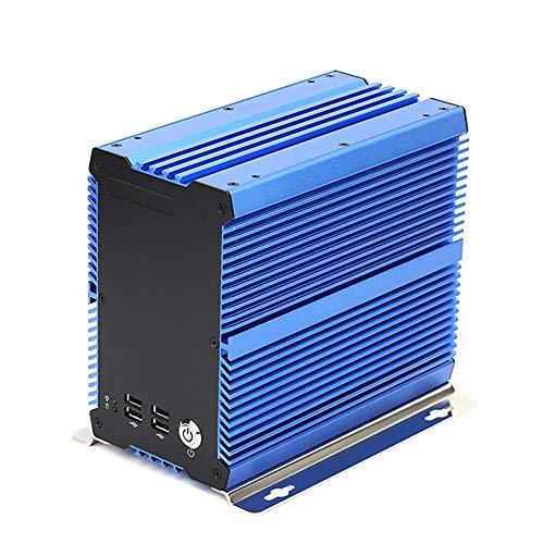 EtryBest Rugged Industrial Embedded Computer Fanless PC, Intel Celeron Processor 1037U 1.8GHz, RAM 4GB, 128GB SSD, Windows 7/8/10/Linux