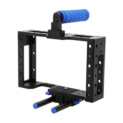 Jaula de protección para cámaras y videocámaras: Amazon.es ...