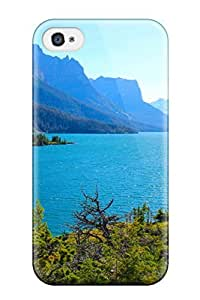 Tpu Case For Iphone 4/4s With Saint Mary Lake