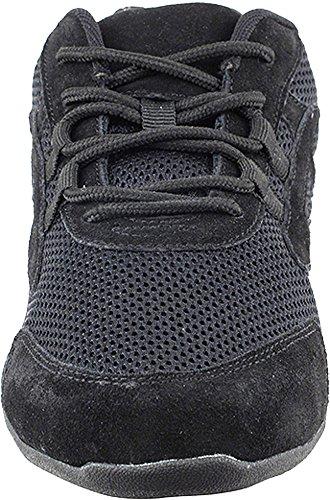 Bundle- 4 items - Very Fine Mens Womens Unisex Practice Dance Sneaker Split Sole VFSN012 Pouch Bag Sachet, Low Profile:Black 11 M US by Very Fine Dance Shoes (Image #2)