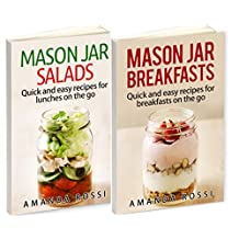 Mason Jar Box Set: Mason Jar Breakfasts and Mason Jar Salads