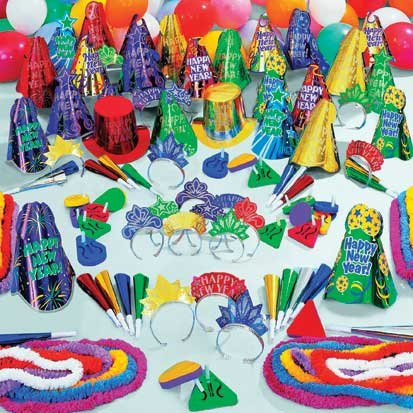 Midnight Madness 300pc Party Kit for 100 by Factory Card and Party Outlet