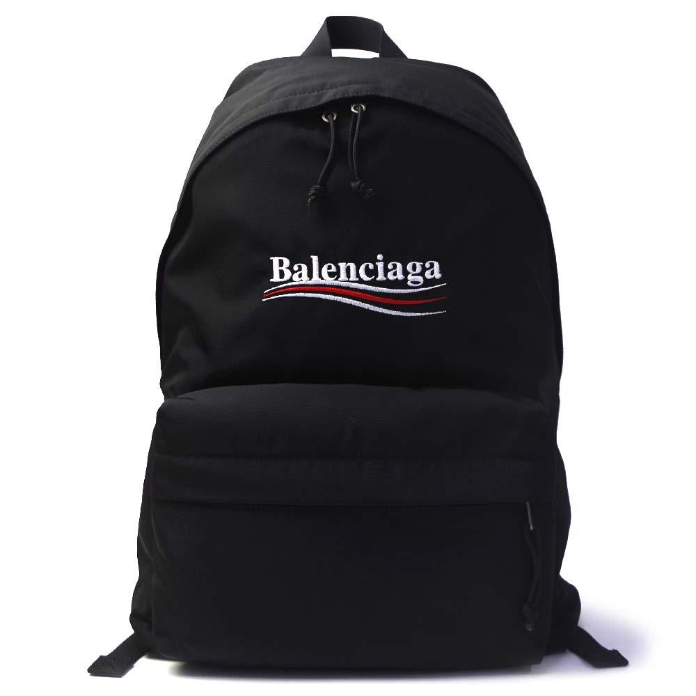 バレンシアガ エクスプローラーバックパック タウンリュック 503221 9WB45 1000 ブラック [並行輸入品] B07TDP64KG