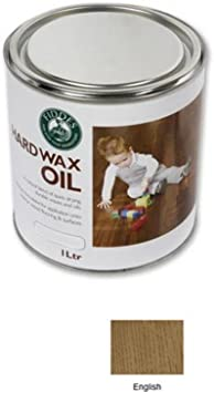 Fiddes tinte de color de aceite de cera dura – inglés 1 ltr