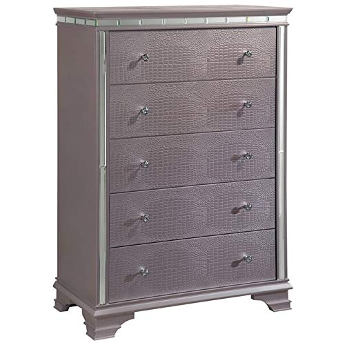 Furniture of America Greta 5 Drawer Chest