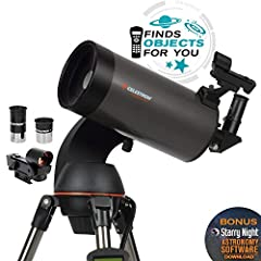 Building on the popularity of our NexStar 114SLT telescope, the 127SLT by Celestron inspires us to go bigger, with 20% more light-gathering power than our 114mm telescope. The Celestron NexStar 127SLT is a computerized telescope that offers a...