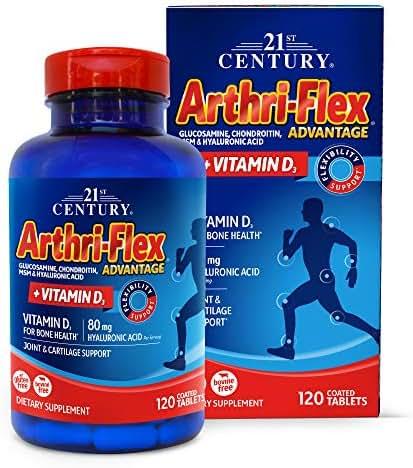 21st Century Arthriflex Advantage Tablets, 120 Count
