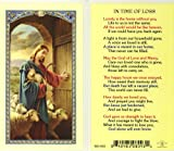 WJ Hirten E24-737 in The Time of Loss, Clear Holy Cards
