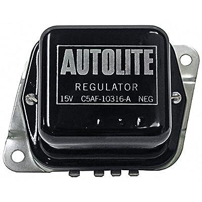 New 1965-67 Ford Falcon, Comet, Mustang, Galaxie, Fairlane Voltage Regulator 38/42 Amp Alternator (C5AF-AUTOLITE)