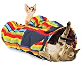 so Four Paws Super Catnip Crazy Cat Tunnel Pants Toy