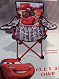Disney Pixar Cars Lightning McQueen and Mater Fold n Go Folding Chair Kids