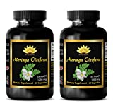 Natural weight loss supplements that really work - MORINGA OLEIFERA EXTRACT - Moringa leaf powder capsules - 2 Bottle 120 Capsules