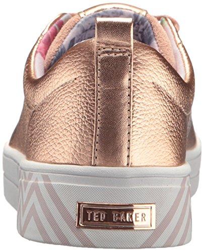 Ted Baker Vrouwen Kellei Sneaker Rose Goud / Paleistuinen Druk