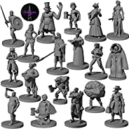 18 Miniatures Townsfolk Heroes NPC - for DND Miniatures D&D Miniatures Dungeon and Dragons Miniature Figures | Dungeon and D