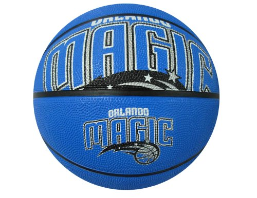 fan products of Spalding NBA Orlando Magic Courtside Rubber Basketball