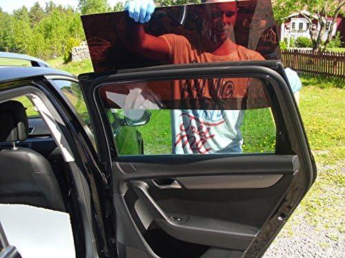 Vorsatzscheiben FIAT 500 ab Bj.07 passgenaue Scheiben T/önung Auto Sonnenschutz fertige Keine Folien Sonnenblenden