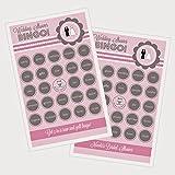 2 sets of 16 Wedding Shower Bingo