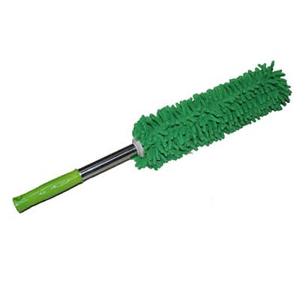 Cleaning Supplies Retractable Chenille Yarn Car Duster/Dust brush, GREEN Blancho Bedding