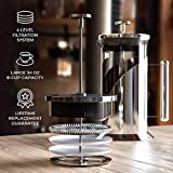 French Press Coffee Maker - 4 Level Filtration
