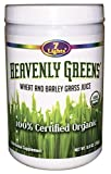 Heavenly Greens 8.8 Oz (100% Organic Wheat & Barley Grass)