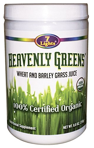 Heavenly Greens 8.8 Oz (100% Organic Wheat & Barley Grass) Review
