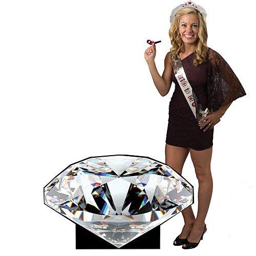 Diamond Cutout Elegant Party - Diamond Out Cut