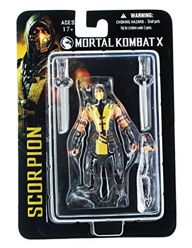 Mezco Mortal Kombat X Scorpion 4-Inch Action Figure (Scorpion From Mortal Kombat)