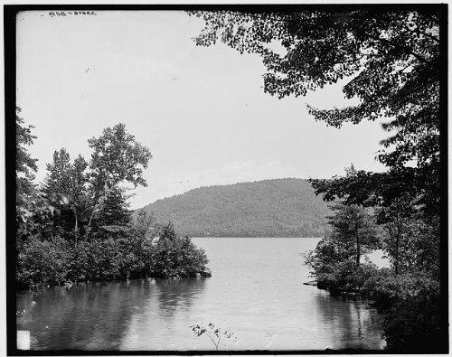 Photo: Across Tea Island,water bodies,Adirondack Mountains,Lake George,New - George Lake Shopping Ny