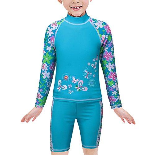 Girls Rash Guard Swimwear - 6