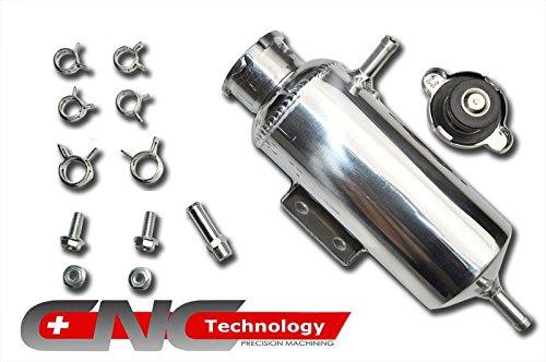 350ml Coolant Water Expansion Tank Bottle Header Aluminium Alloy Universal Car