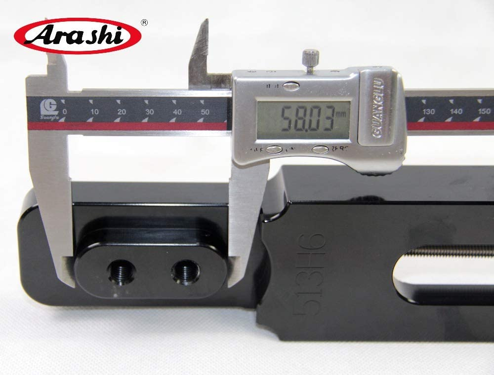 Arashi Extended Swingarm Kit for HONDA CBR600RR 2007-2012 Motorcycle Accessories Extension Swing Arm CBR600 CBR 600 RR 600RR Black 2008 2009 2010 2011
