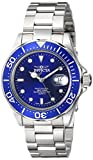 "Invicta Men's 9308SYB ""Pro Diver"" Stainless Steel Watch with Silver-Tone Link Bracelet"